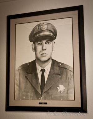 Framed Portrait of Chief John Moreno 1950-1978
