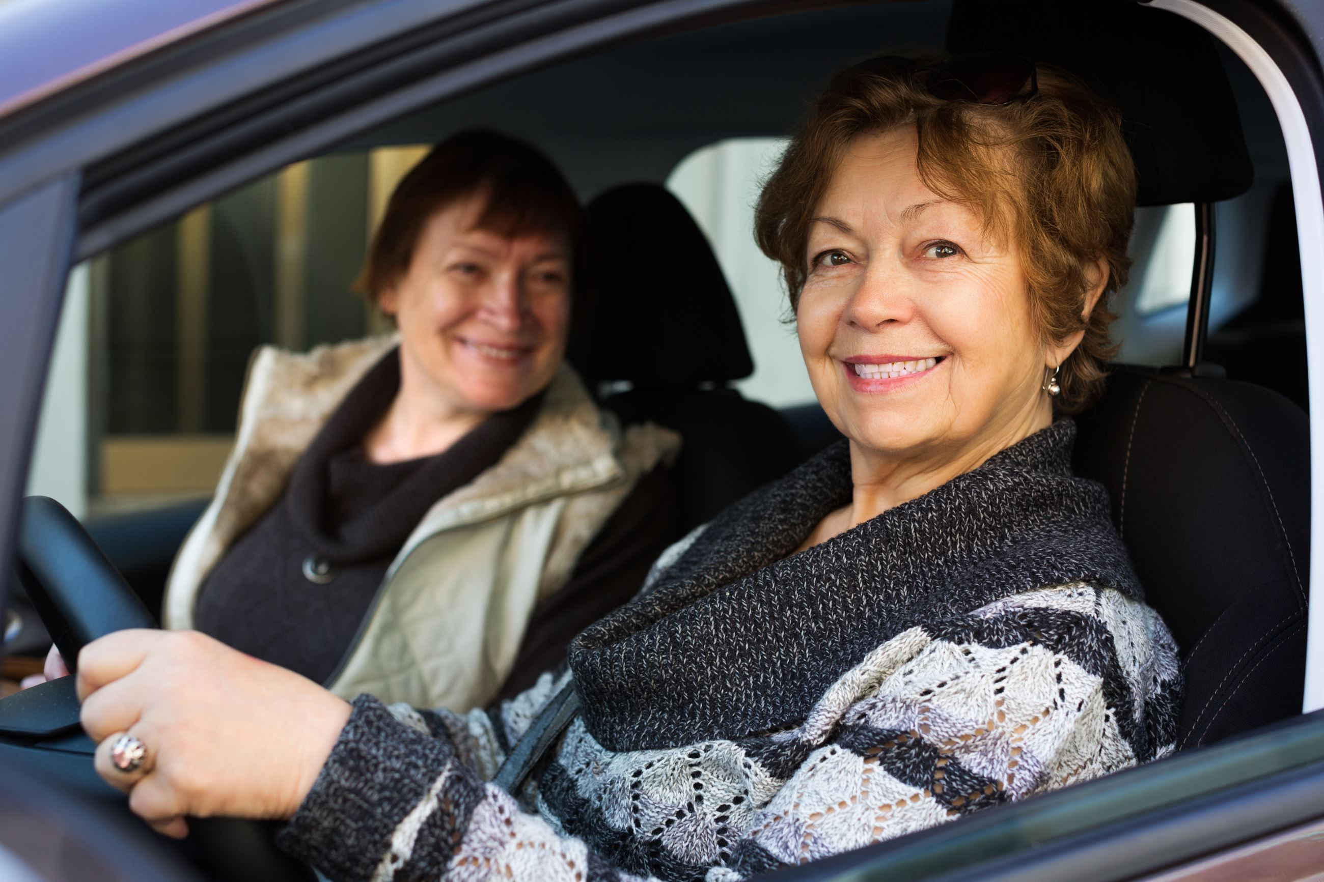 Stock Image Women Driving